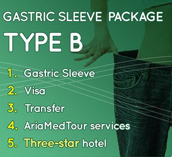 gastric sleeve package B