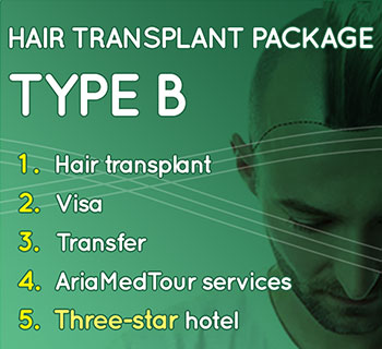 hair transplant package type B
