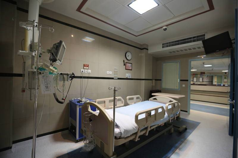Bahman Hospital beds