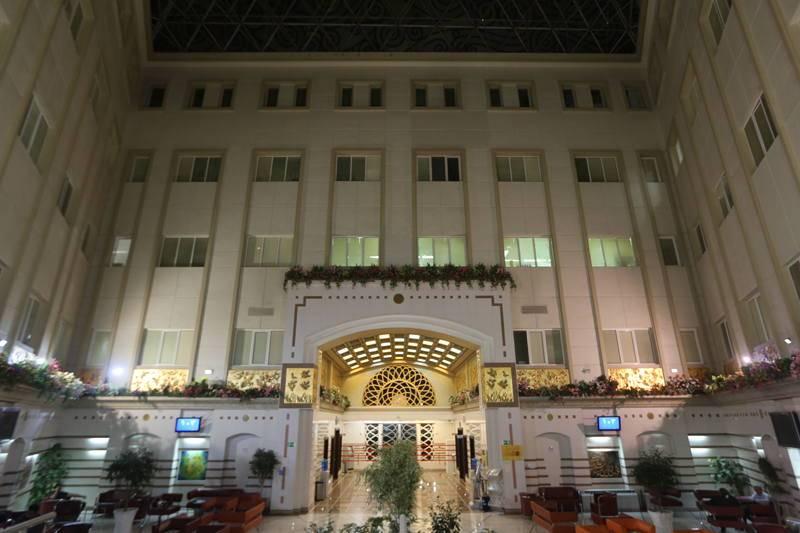 Bahman Hospital entrance chamber