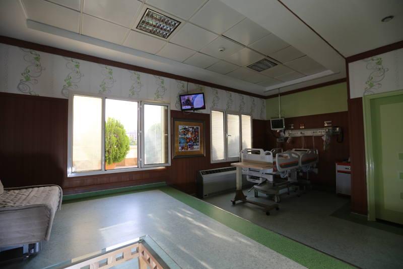 Bahman Hospital interior