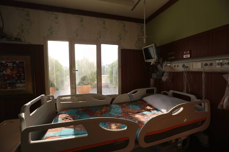 Bahman Hospital VIP rooms
