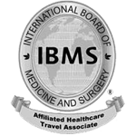 logo of IBMS, international board of medicine and surgery