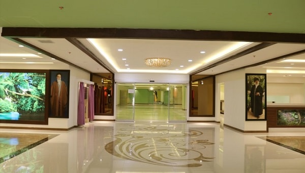 Imam Reza hospital main hall