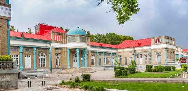 old building of imam reza hospital mashhad