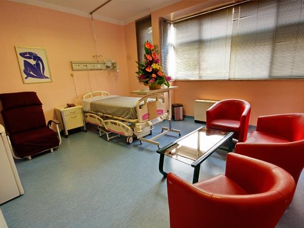 Jam Hospital VIP rooms