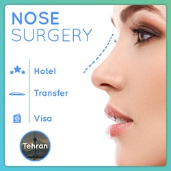 nose surgery package in Iran