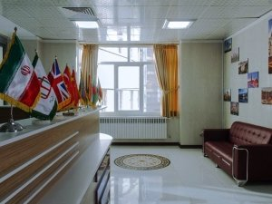 inside the building of iran's hospitals
