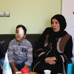 retina surgery testimonial, Iran