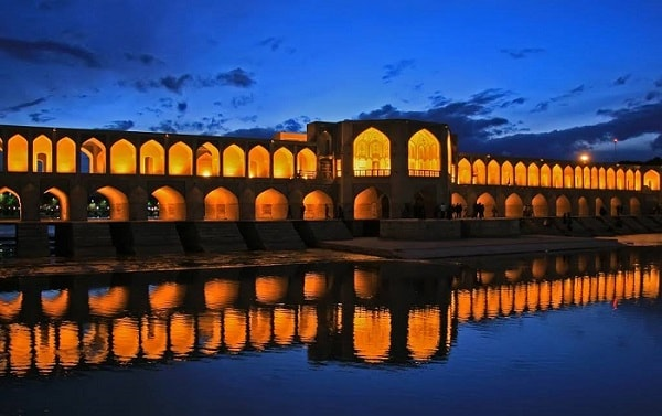 Si-o-se-pol Bridge Isfahan