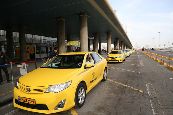 Airport taxi of Tehran