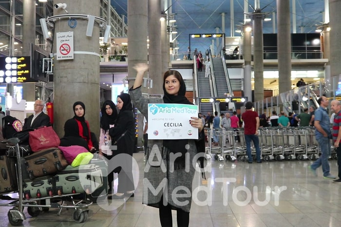 airport pickup in Iran