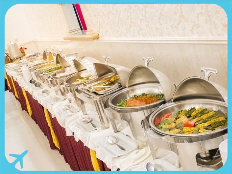Sahand hotel's self-service restaurant