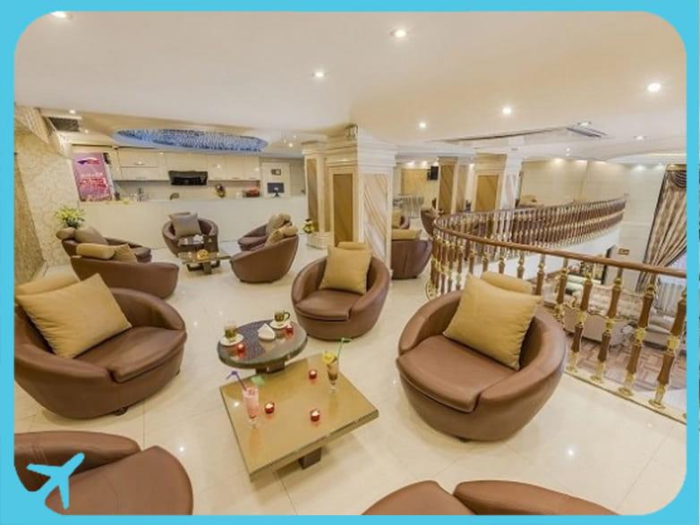 Sahand hotel's lobby (2)