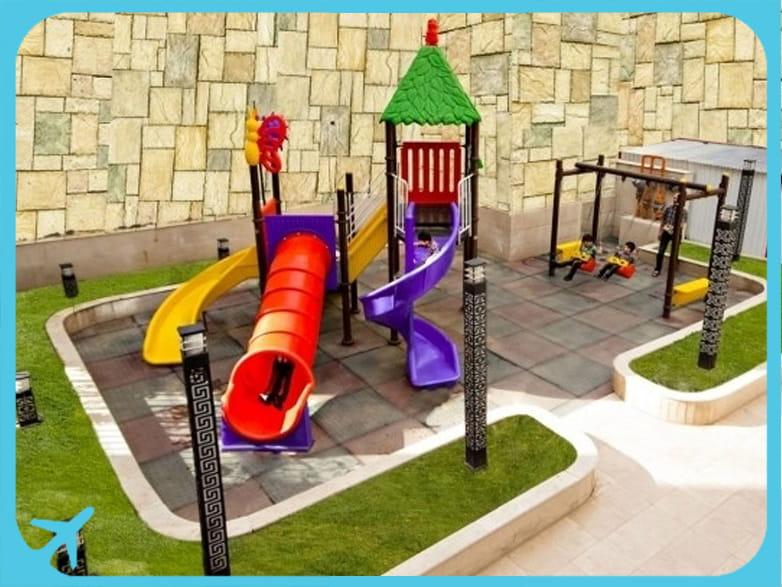 Sahand hotel's playground