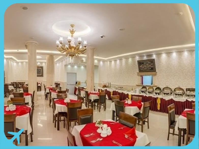 Sahand hotel's restaurant