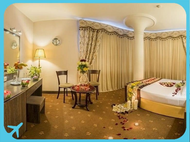 Sahand hotel's room