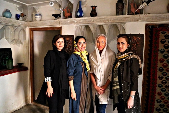foreign female tourists in Iran