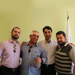 patient testimonial hair transplant Iran
