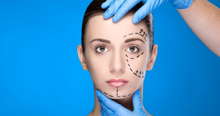 areas which can be treated with facial plastic surgery