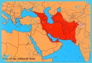 Afasharid Dynasty Territory