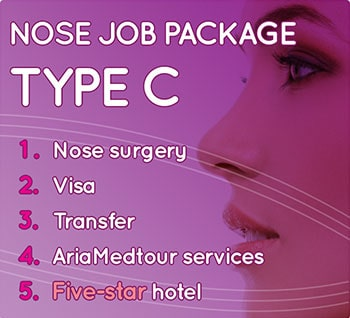 nose surgery package iran