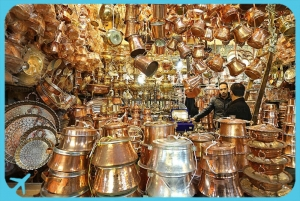 Tehran copper bazaar in Grand Bazaar