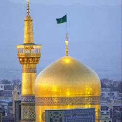 Imam Reza holy shrine in Mashhad tourist attraction