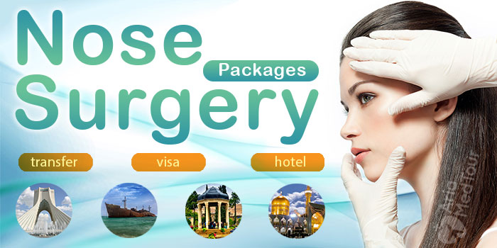 nose job packages in Iran with flight, hotel, transfer, interpreter