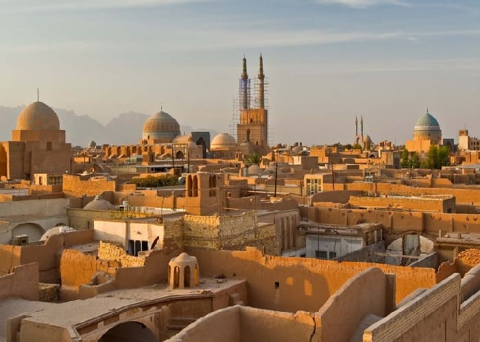 yazd architecture and historical places, travel to yazd