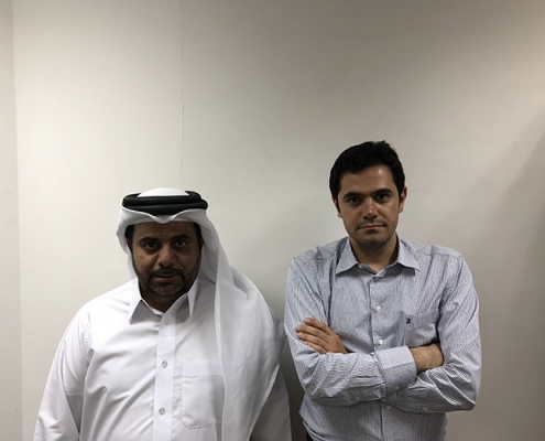 AriaMedTour CEO and Qatari Partner
