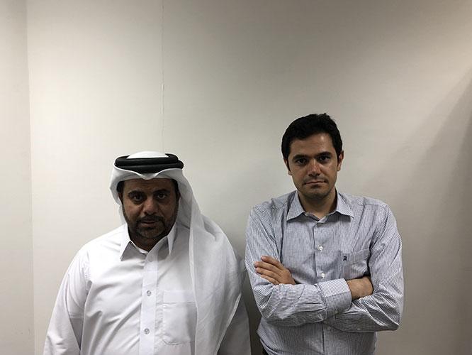 AriaMedTour CEO and Qatari Partner