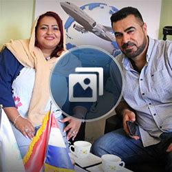 Iraqi couple in Iran happy with weight loss surgery