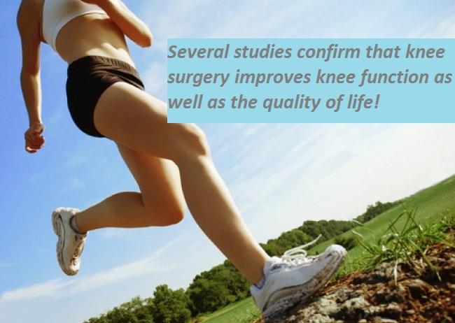 knee surgery positive outcome