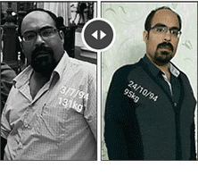 weight loss Before After iran