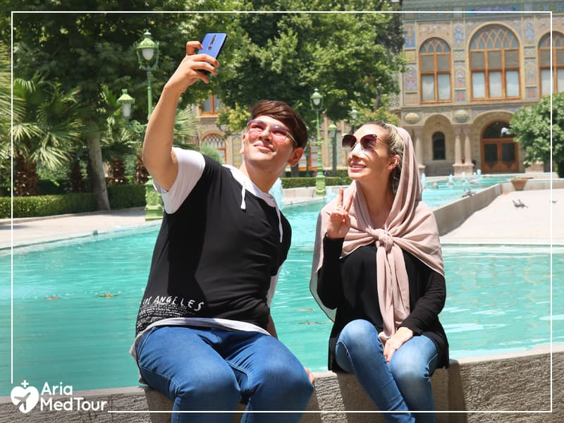 A normal day in Iran during summer