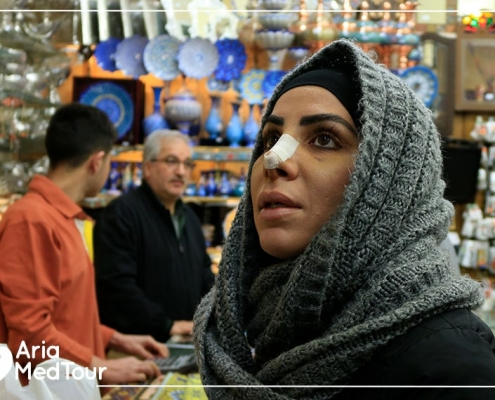 Shopping after surgery in tehran