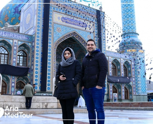 Religious and medical journey in Iran