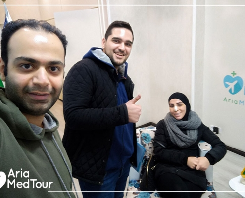 Australian patient in a medical tourism journey in Iran
