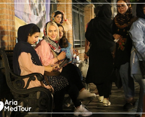 Treatment and tourism in Iran for a Norwegian girl
