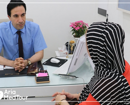 consultation before rinoplasty and septoplasty in Iran