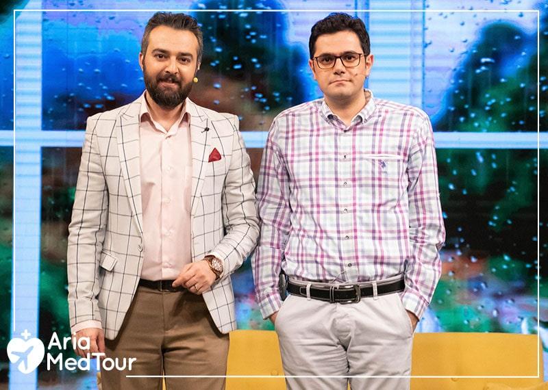 AriaMedTour on Iranian Tv show