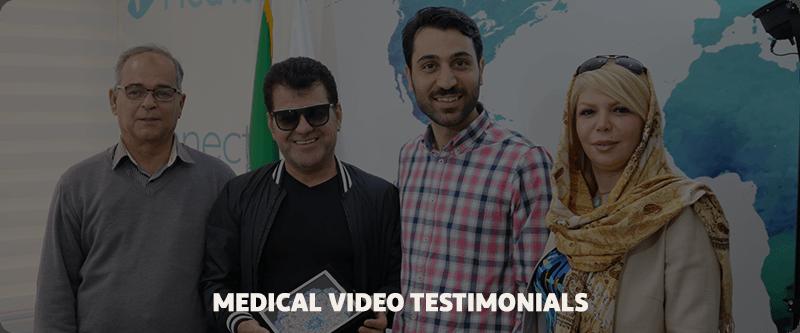 Medical video estimonials cancer