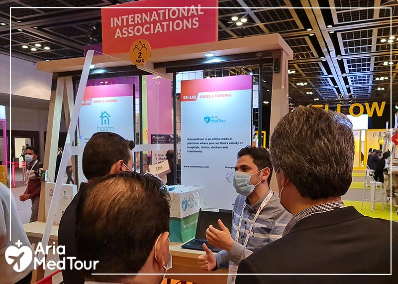 AriaMedTour at the 40th GITEX 2020 Dubai Exhibition