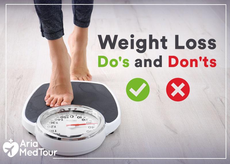 weight loss surgery dos and don'ts
