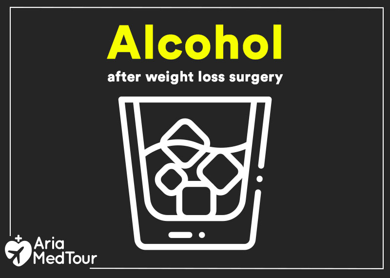 alcohol after weight loss surgery