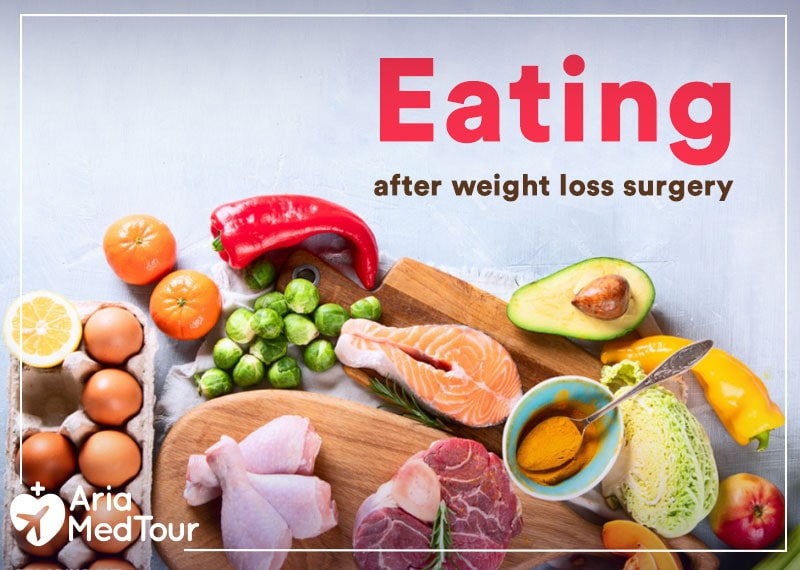 eating foods after weight loss surgery