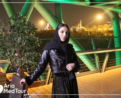 tourism after nose job in Iran