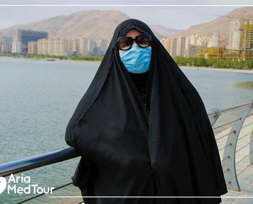 nose job experience in Iran during corona virus pandemic