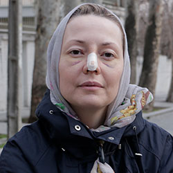 a Russian ENT doctor in Iran for rhinoplasty